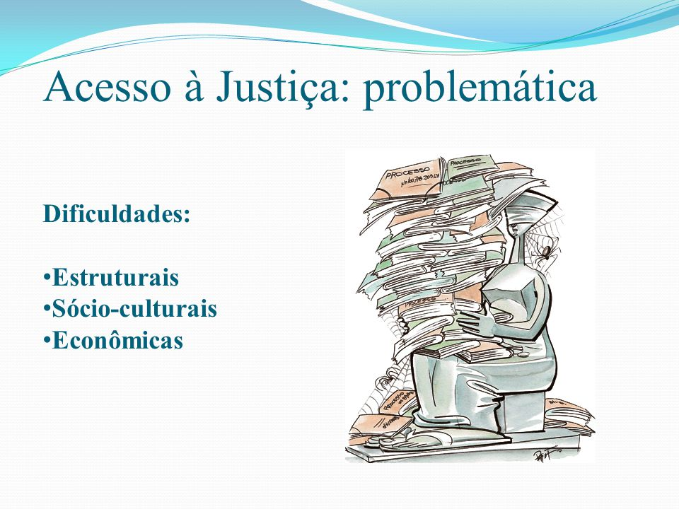 Acesso à Justiça: problemática