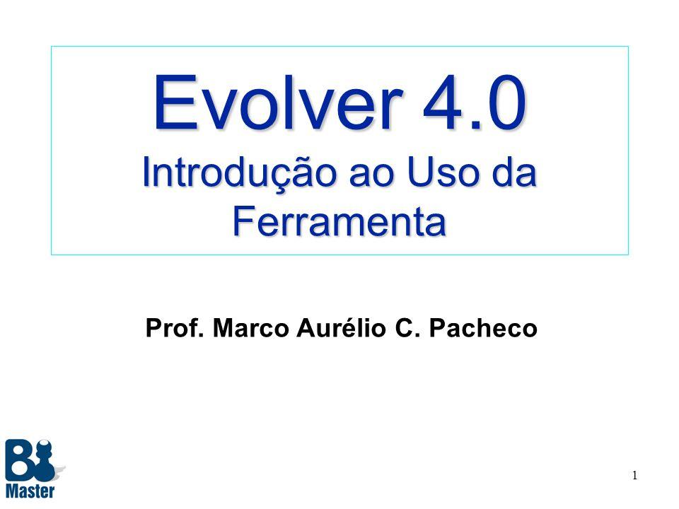 Evolver 4.0 Introdução ao Uso da Ferramenta