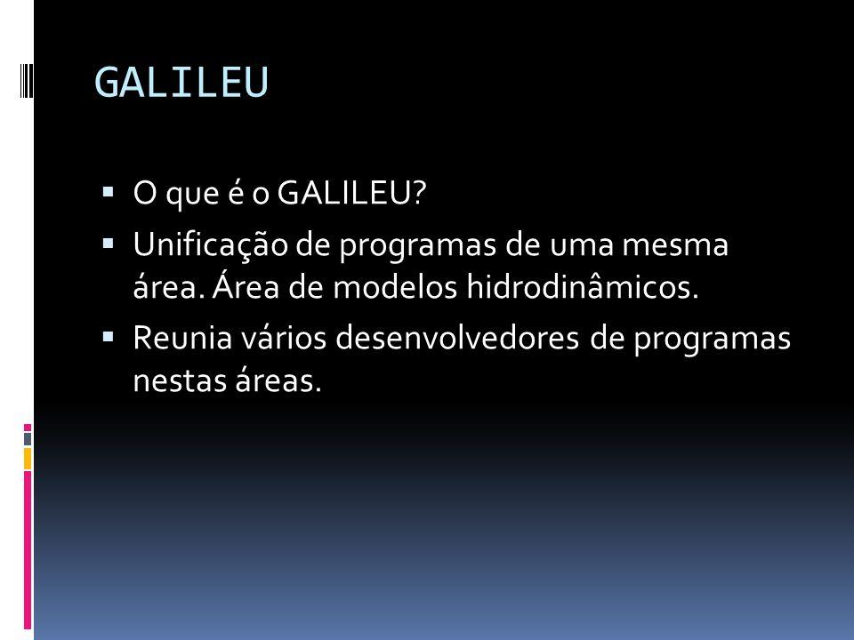 GALILEU O que é o GALILEU