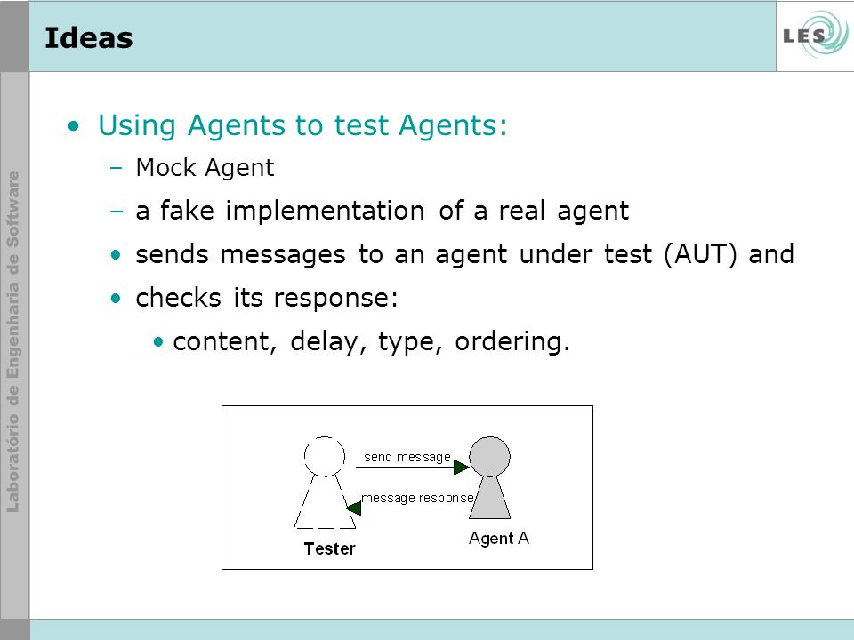 Using Agents to test Agents: