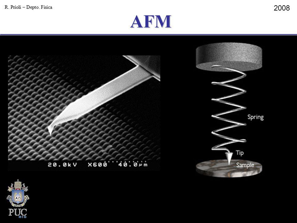 AFM R. Prioli – Depto. Física 2008