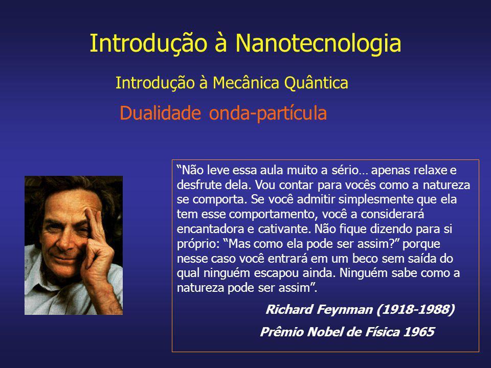 Introdução à Nanotecnologia