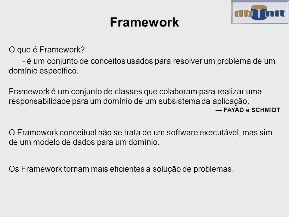 Framework O que é Framework