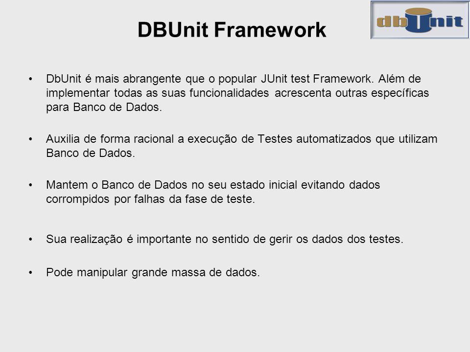 DBUnit Framework