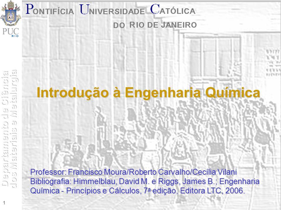 Introdução à Engenharia Química