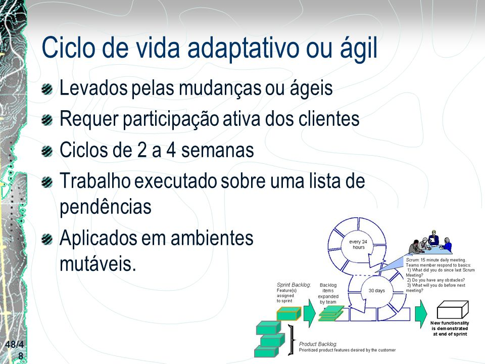 Ciclo de vida adaptativo ou ágil