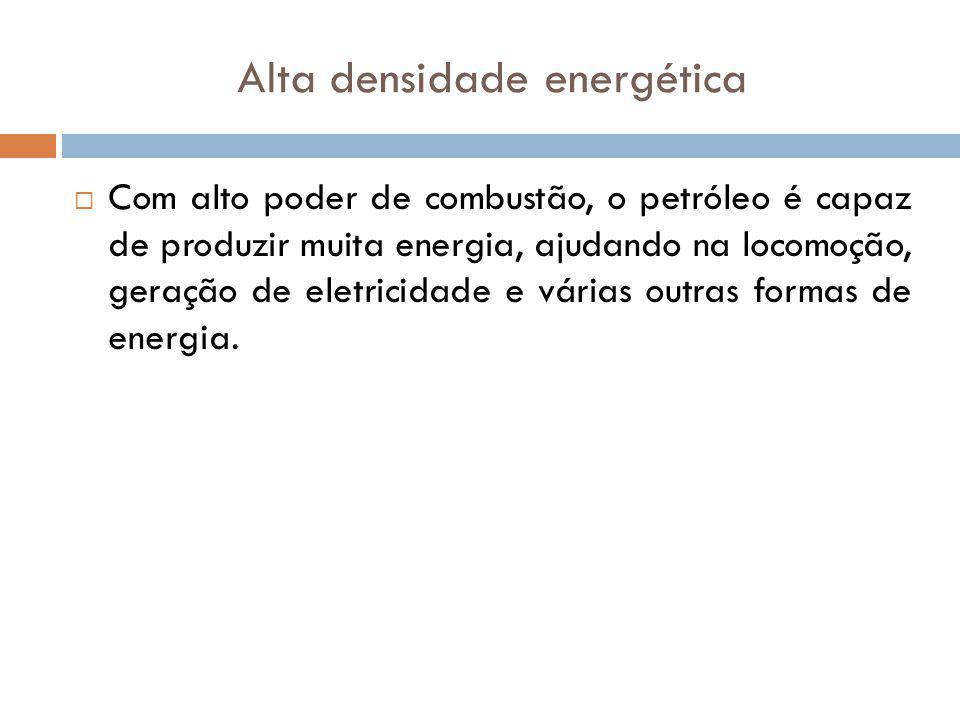 Alta densidade energética