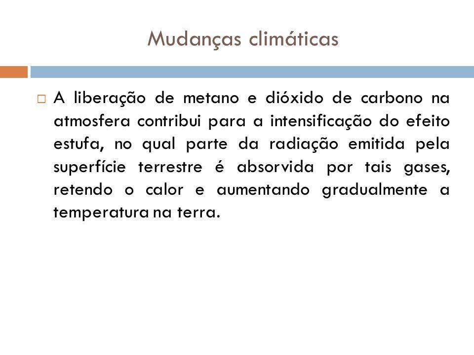 Mudanças climáticas