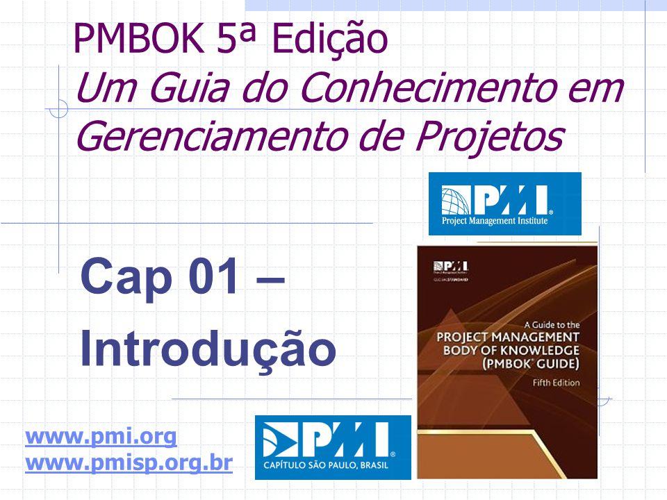 PMBOK 5ª Edição Um Guia do Conhecimento em Gerenciamento de Projetos