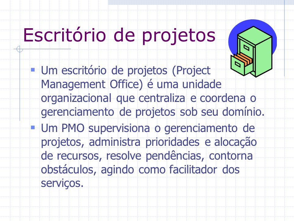 Escritório de projetos