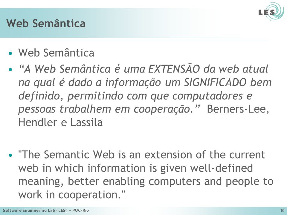 Web Semântica Web Semântica