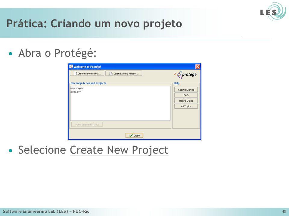 Prática: Criando um novo projeto