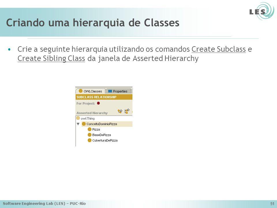 Criando uma hierarquia de Classes