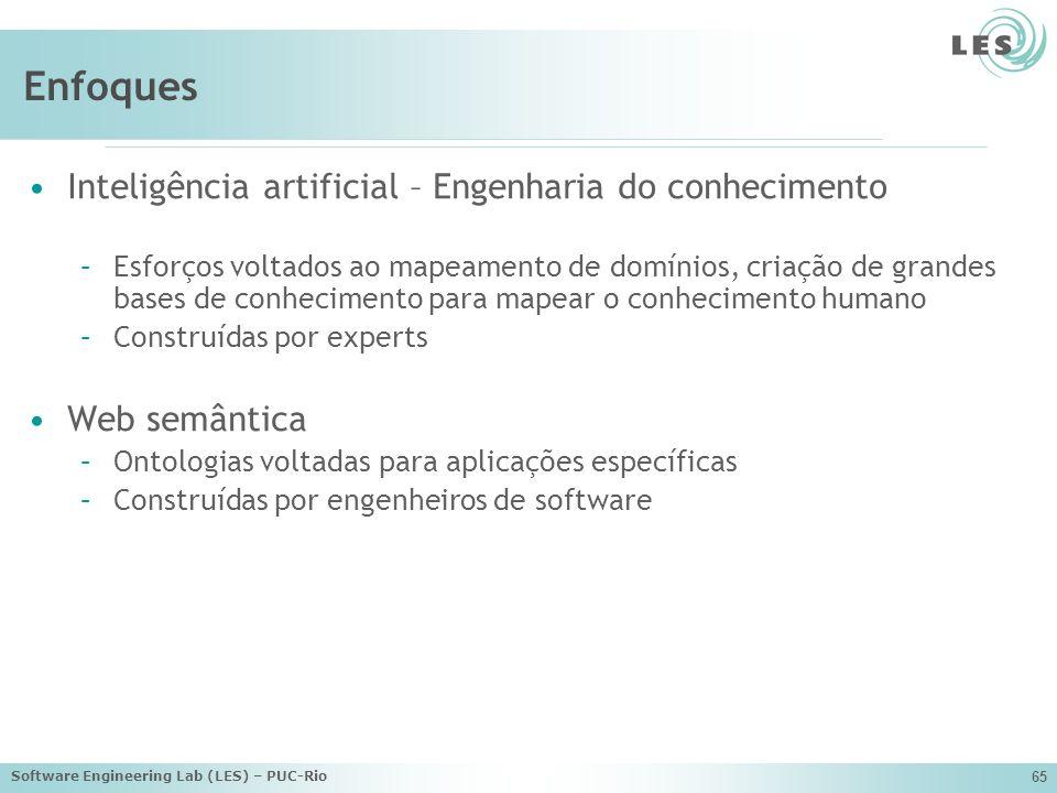 Enfoques Inteligência artificial – Engenharia do conhecimento