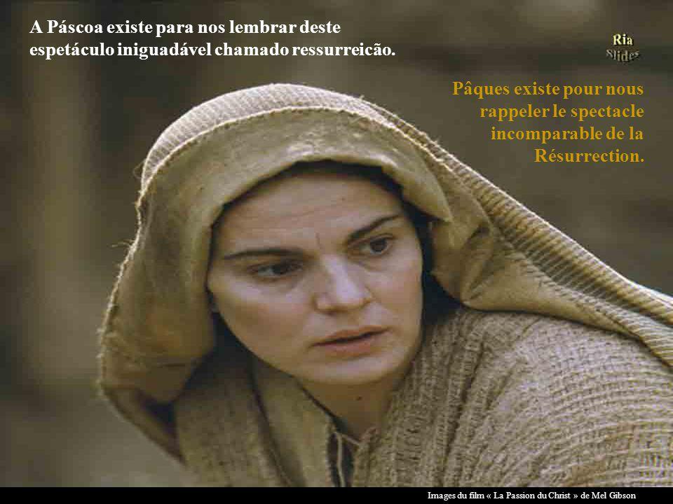 A Páscoa existe para nos lembrar deste espetáculo iniguadável chamado ressurreicão.