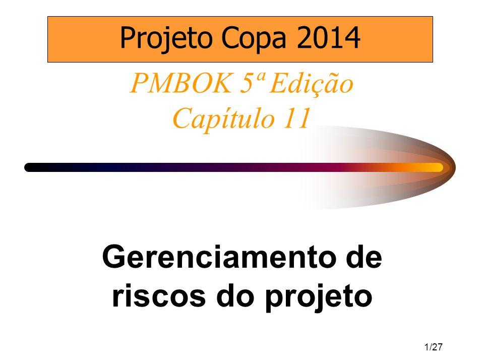 PMBOK 5ª Edição Capítulo 11