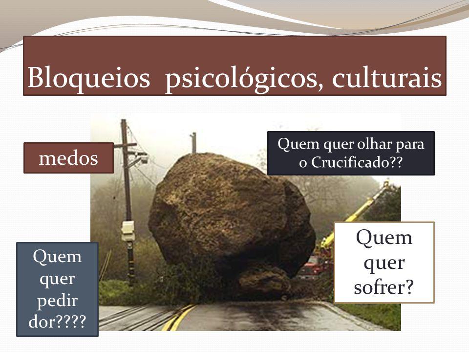 Bloqueios psicológicos, culturais