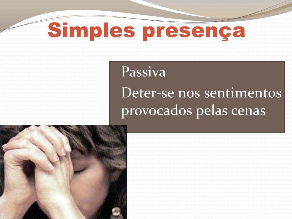Simples presença Passiva