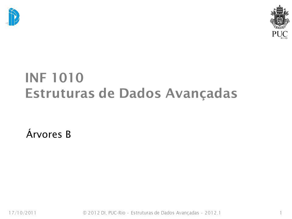 INF 1010 Estruturas de Dados Avançadas