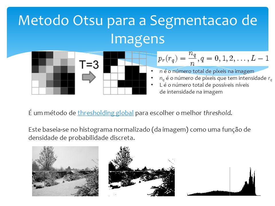 Metodo Otsu para a Segmentacao de Imagens