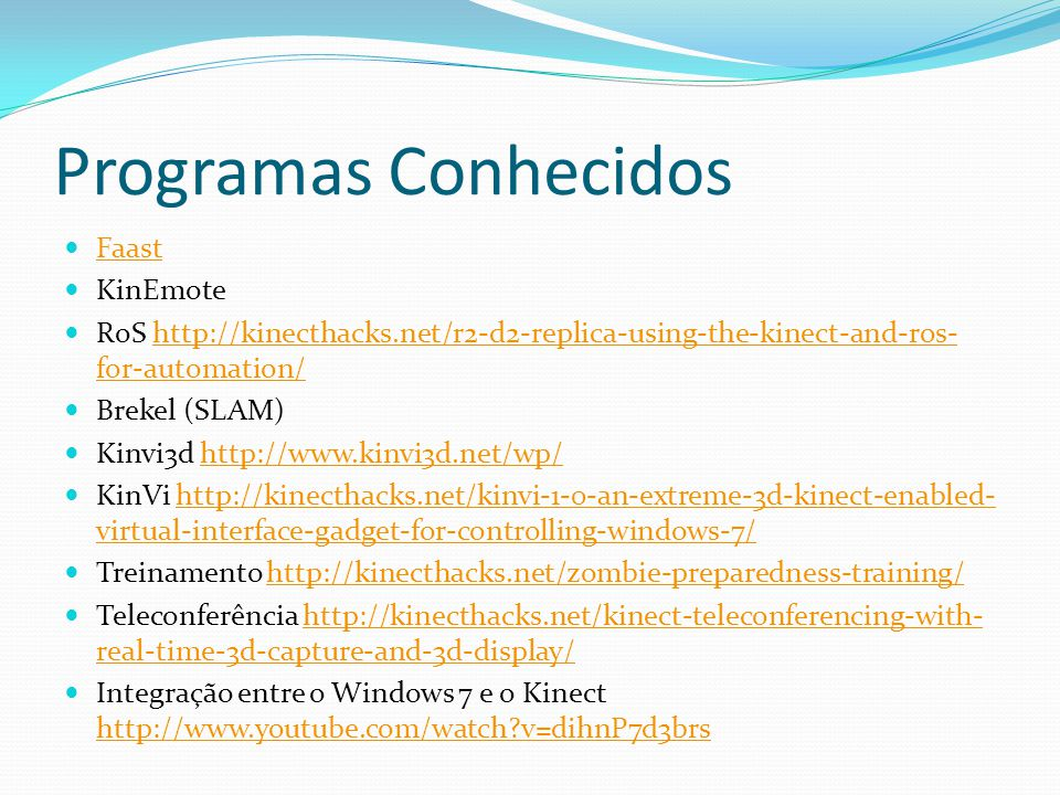 Programas Conhecidos Faast KinEmote