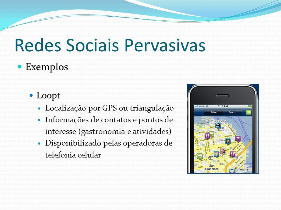Redes Sociais Pervasivas