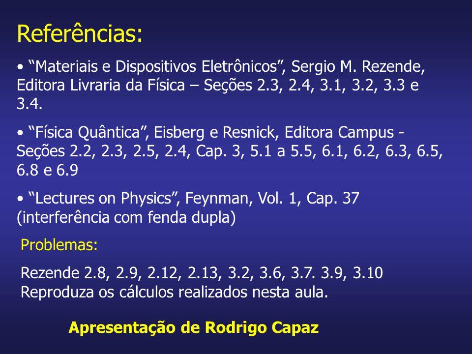 Apresentação de Rodrigo Capaz