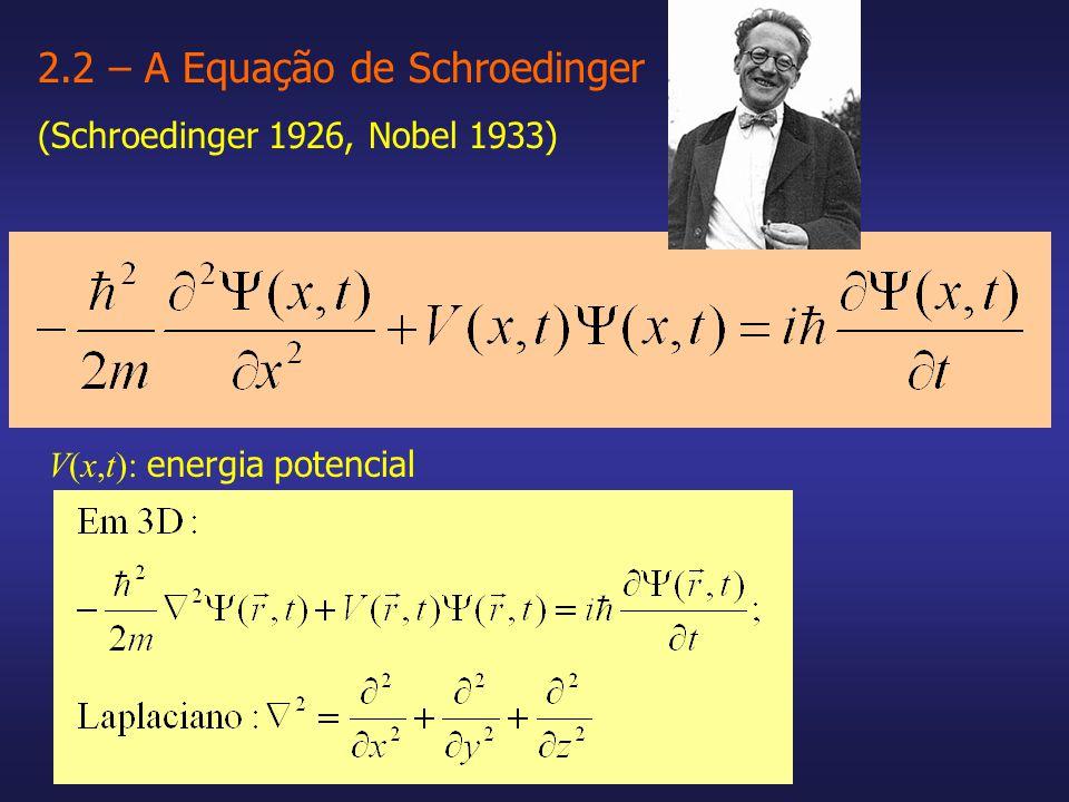 V(x,t): energia potencial