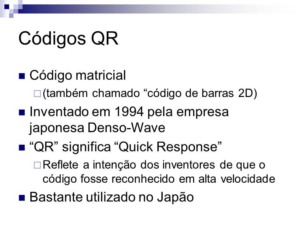 Códigos QR Código matricial