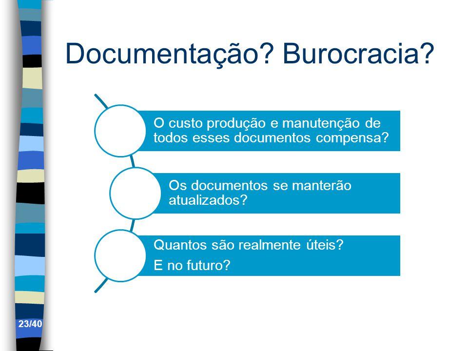 Documentação Burocracia