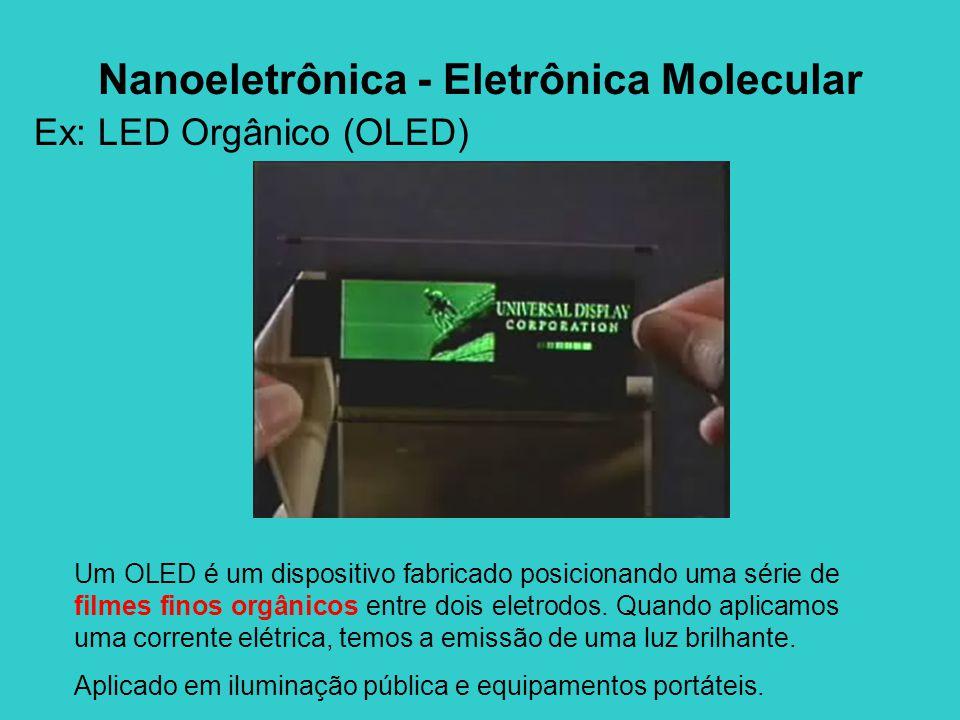 Nanoeletrônica - Eletrônica Molecular