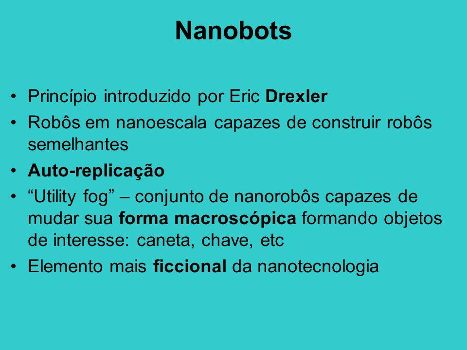 Nanobots Princípio introduzido por Eric Drexler