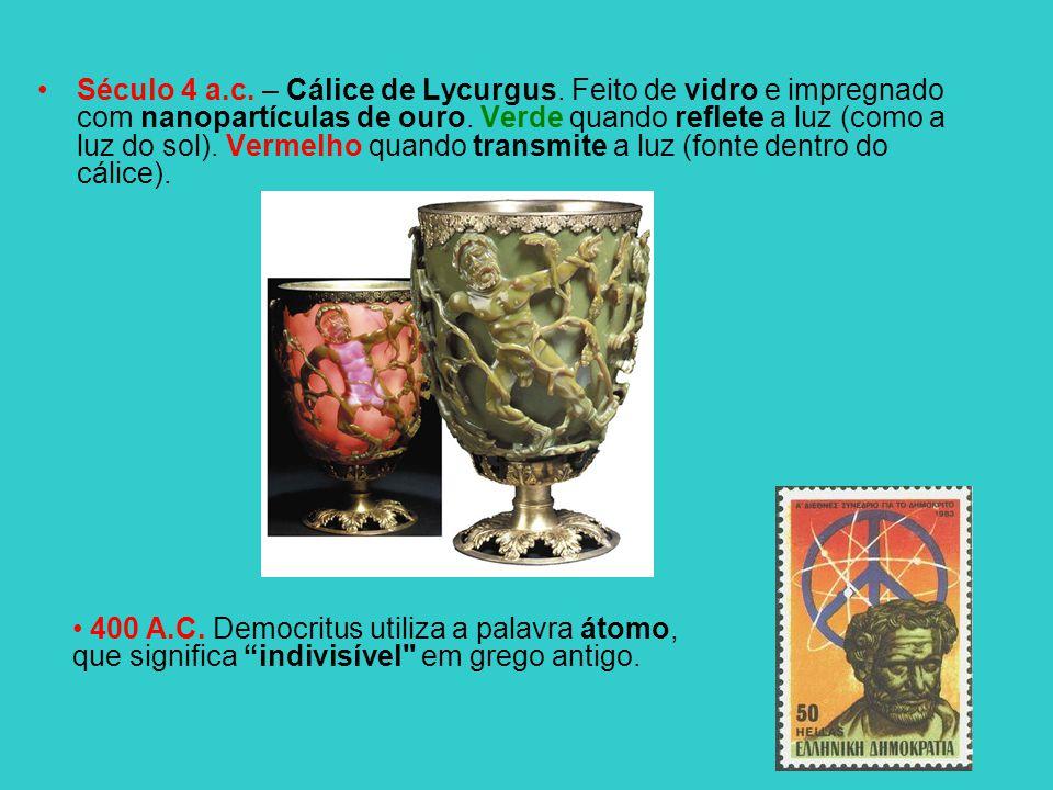 Século 4 a. c. – Cálice de Lycurgus