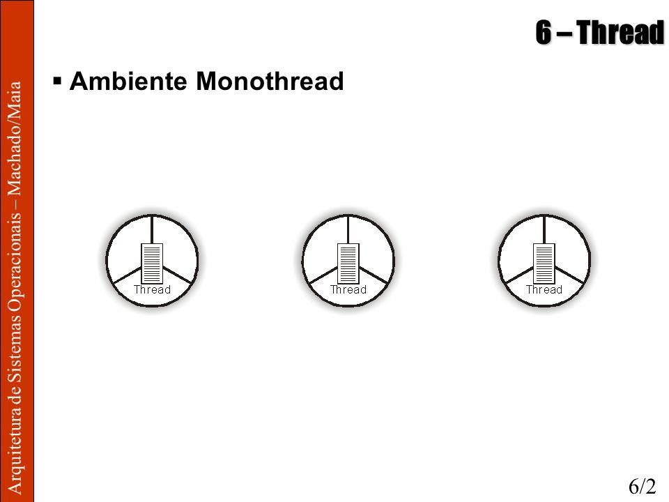 6 – Thread Ambiente Monothread 6/2