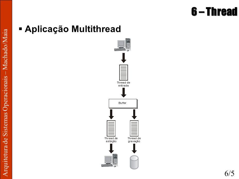 6 – Thread Aplicação Multithread 6/5