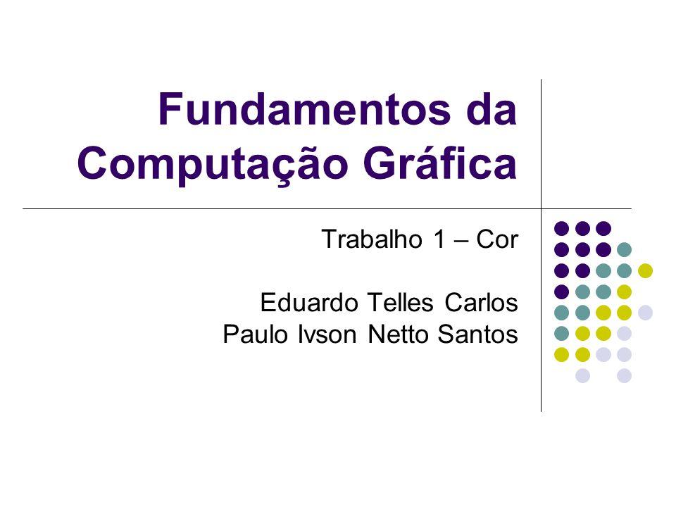 Fundamentos da Computação Gráfica