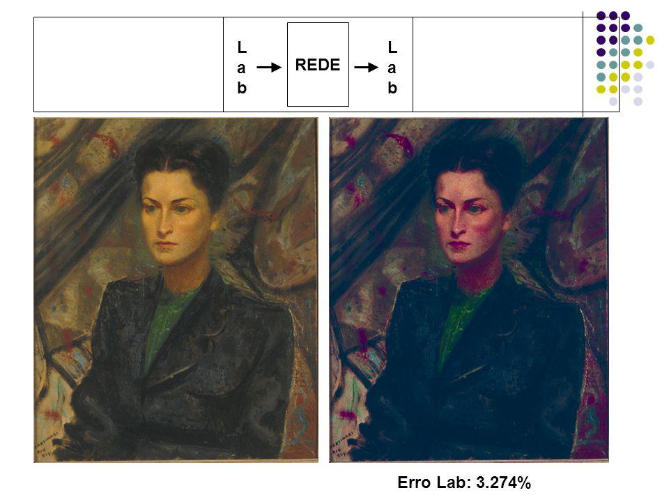 REDE L a b L a b Erro Lab: 3.274%