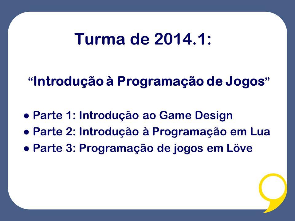 Introdução à Programação de Jogos
