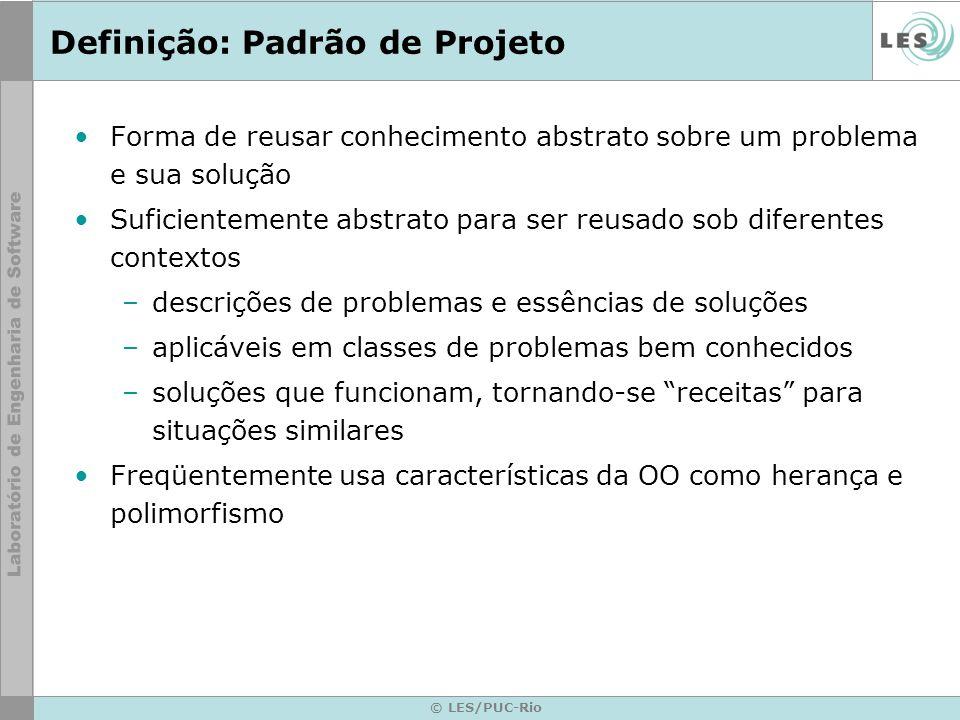 Definição: Padrão de Projeto