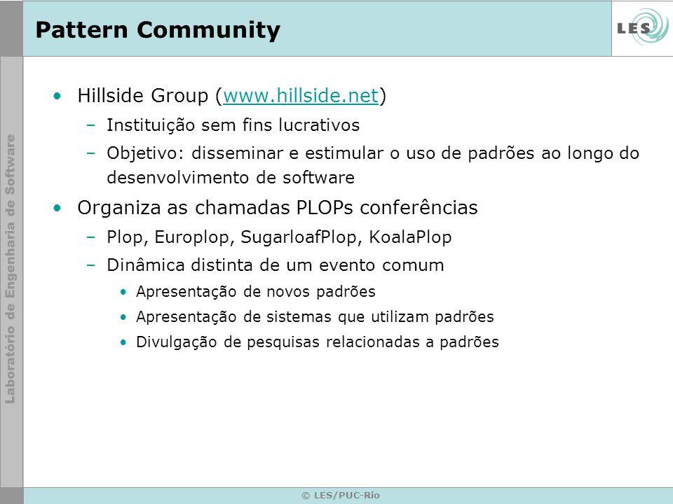 Pattern Community Hillside Group (www.hillside.net)