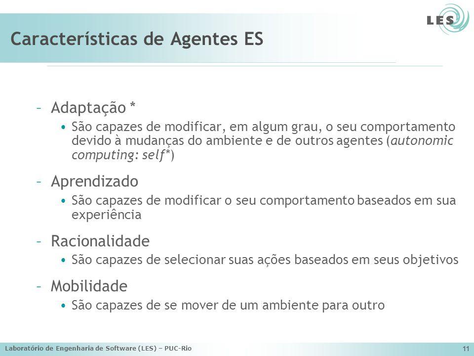 Características de Agentes ES