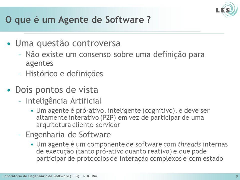 O que é um Agente de Software