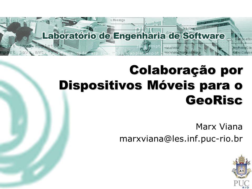 Colaboração por Dispositivos Móveis para o GeoRisc