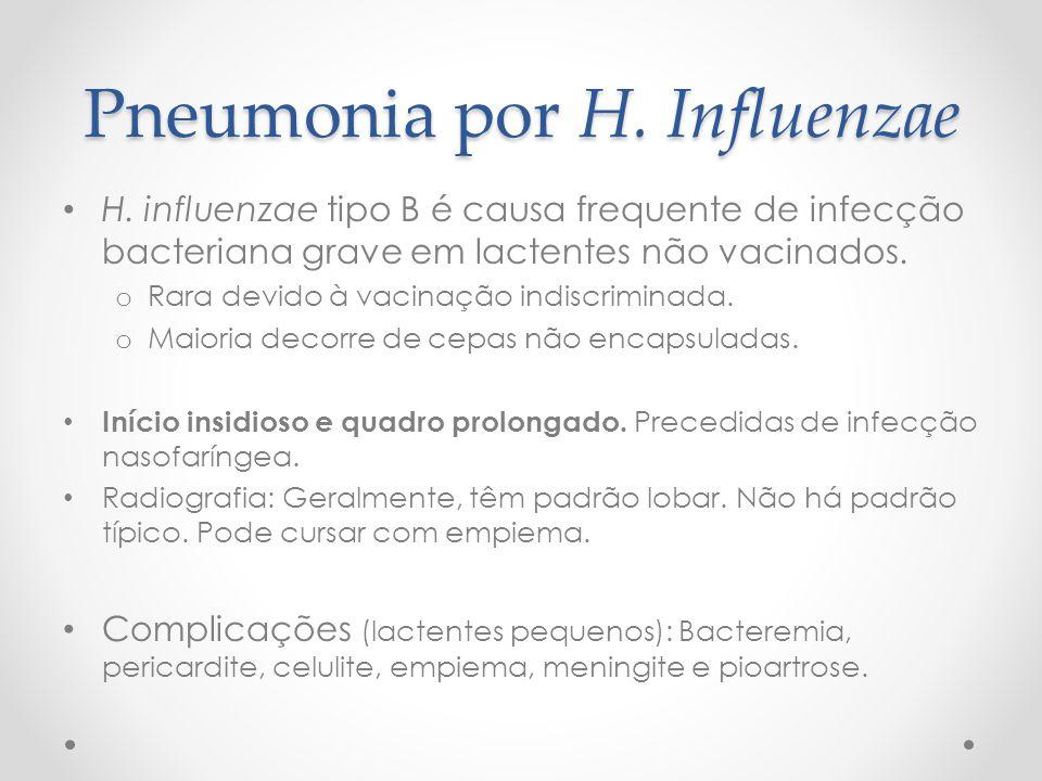 Pneumonia por H. Influenzae