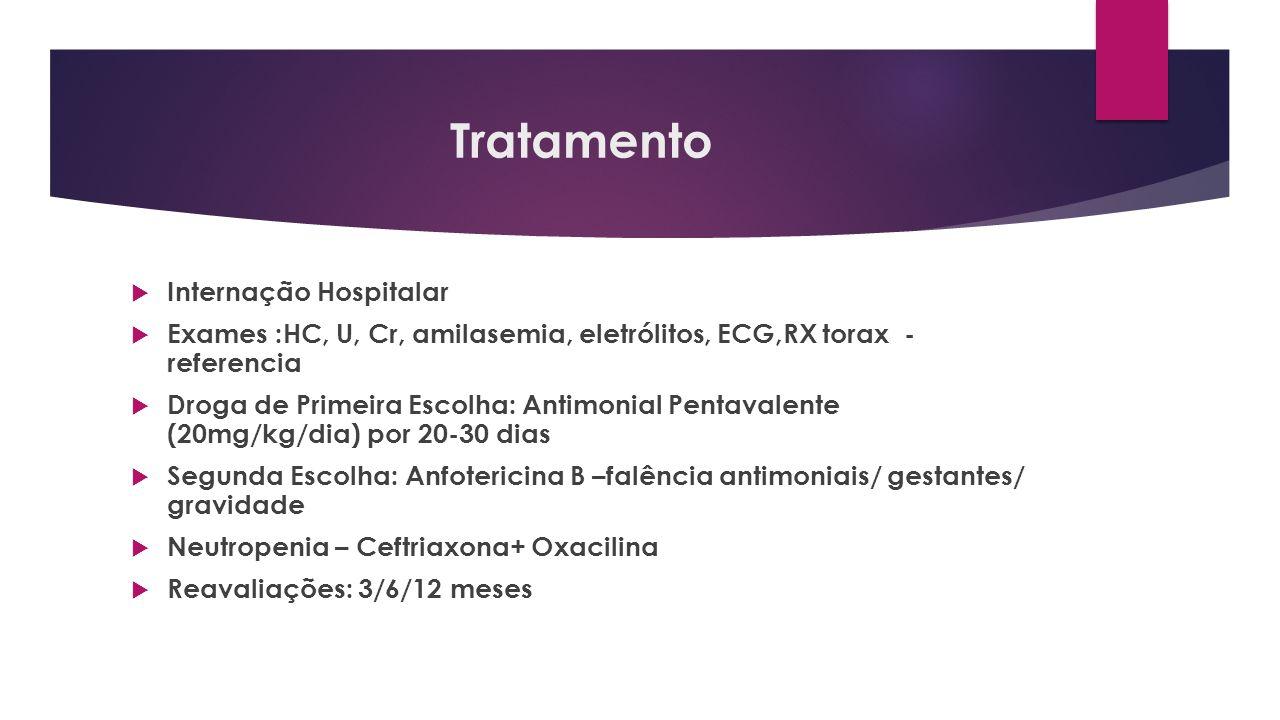 Tratamento Internação Hospitalar
