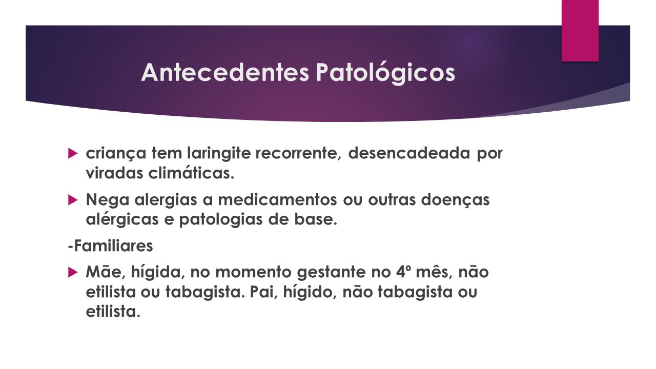 Antecedentes Patológicos