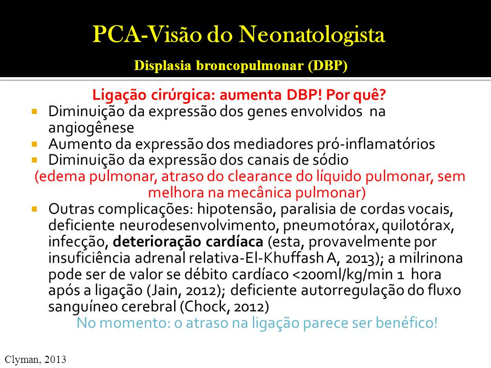 PCA-Visão do Neonatologista