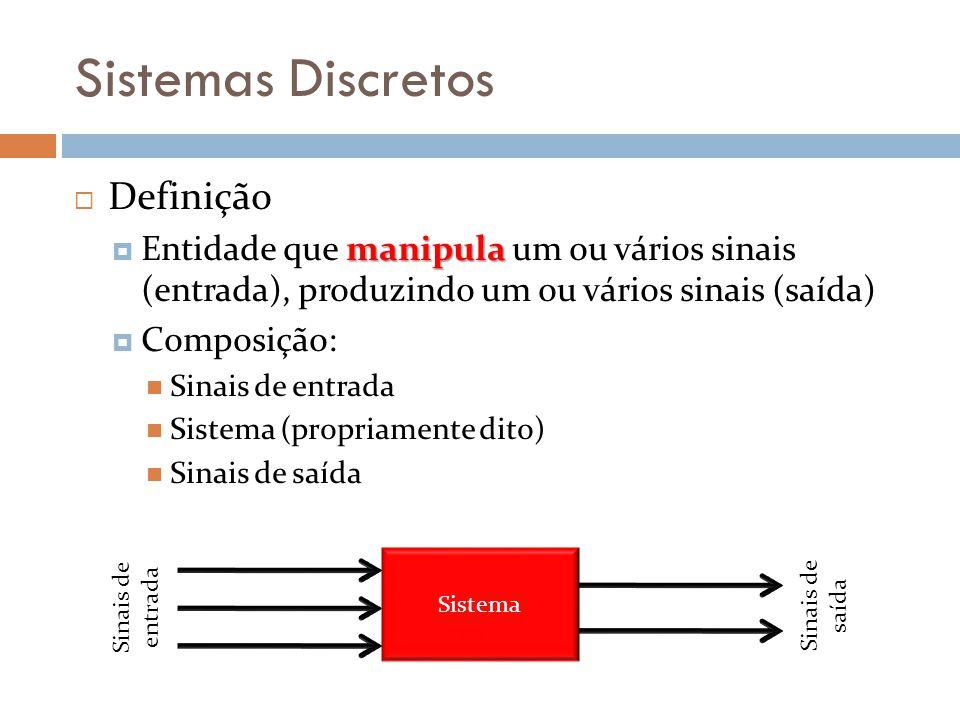 Sistemas Discretos Definição