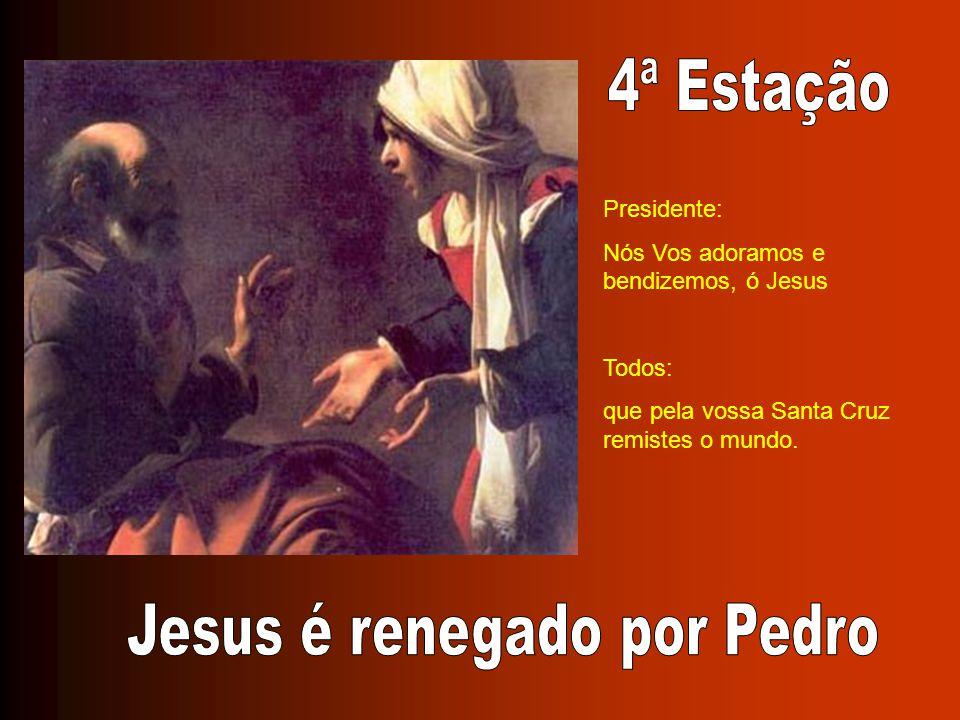 Jesus é renegado por Pedro