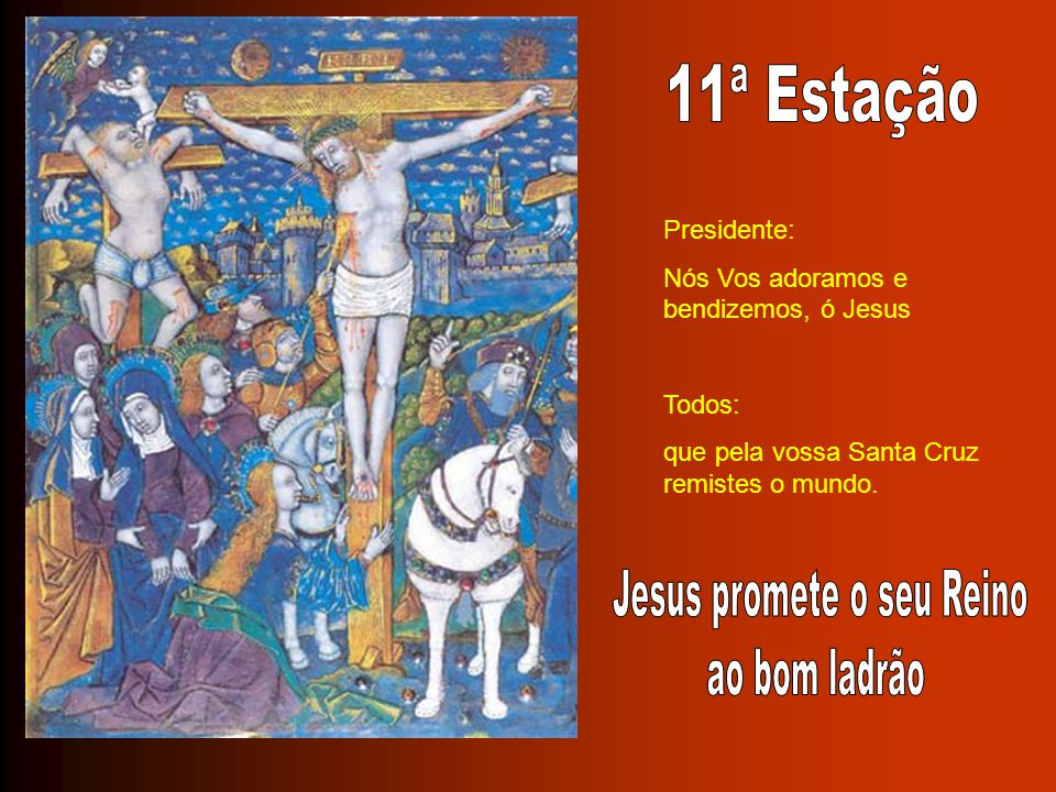 Jesus promete o seu Reino